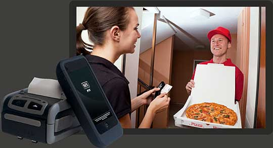 Mobile POS Pizza